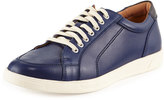 Cole Haan Quincy Sport Oxford II Leather Sneaker, Marine Blue/Peacoat