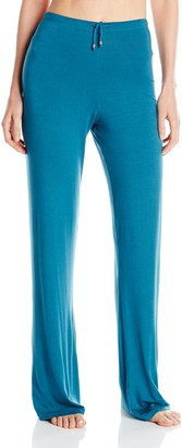 Ahh By Rhonda Shear Women's Plus Size Lazy Daze Louge Pant