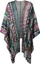 Missoni open knit cardigan - women - Cupro/Rayon/polyester - One Size