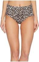 Tommy Bahama Cat's Meow High-Waist Bikini Bottom Women's Swimwear