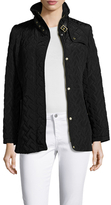 Cole Haan Quilted Stand Collar Jacket