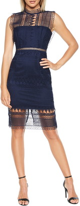 Bardot Mariana Lace Body-Con Dress