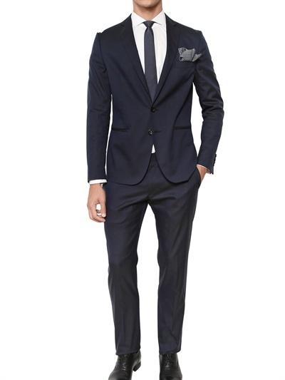 Tonello Stretch Techno Cotton Suit