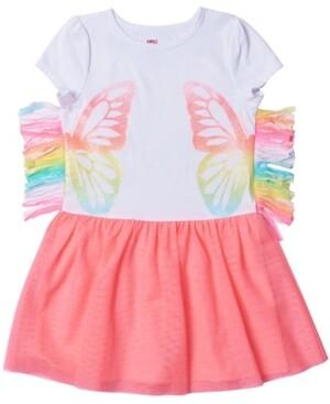 Epic Threads Toddler Girls Side Fringe Graphic Tutu Dress