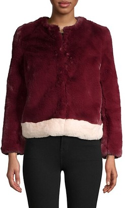 Saks Fifth Avenue Faux-Fur Jacket