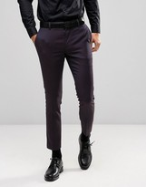 Burton Menswear Skinny Jacquard Suit Pant