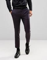Burton Menswear Skinny Jacquard Suit Trouser