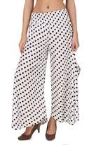 One Femme Women's Printed Palazzo with Side Slit
