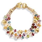 Marco Bicego Africa Semiprecious Stone & Pearl Bracelet