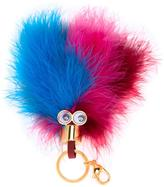 Sophie Hulme feather keyring charm