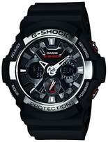 Casio Black 'g Shock' Chronograph Digital Watch Ga-200-1aer