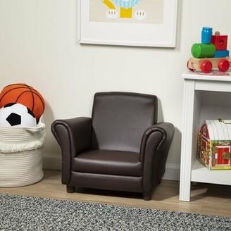Melissa & Doug Kids Club Chair Color: Brown