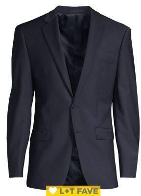 Calvin Klein Slim-Fit Wool Suit Separate Jacket