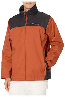 Columbia Glennaker Laketm Rain Jacket (Harvester/Shark) Men's Coat