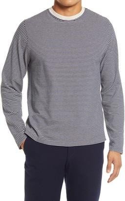 Oliver Spencer Men's Stripe Long Sleeve T-Shirt
