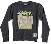 Quiksilver NEW QUIKSILVERTM Boys 8-16 Paradise Crew Jumper Boys Teens Sweatshirt