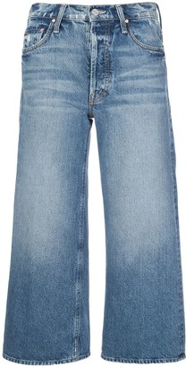 Mother Tomcat cropped straight-leg jeans