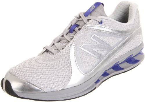 New Balance Women's WW855 Toning Shoe,Grey/Blue,10 B US