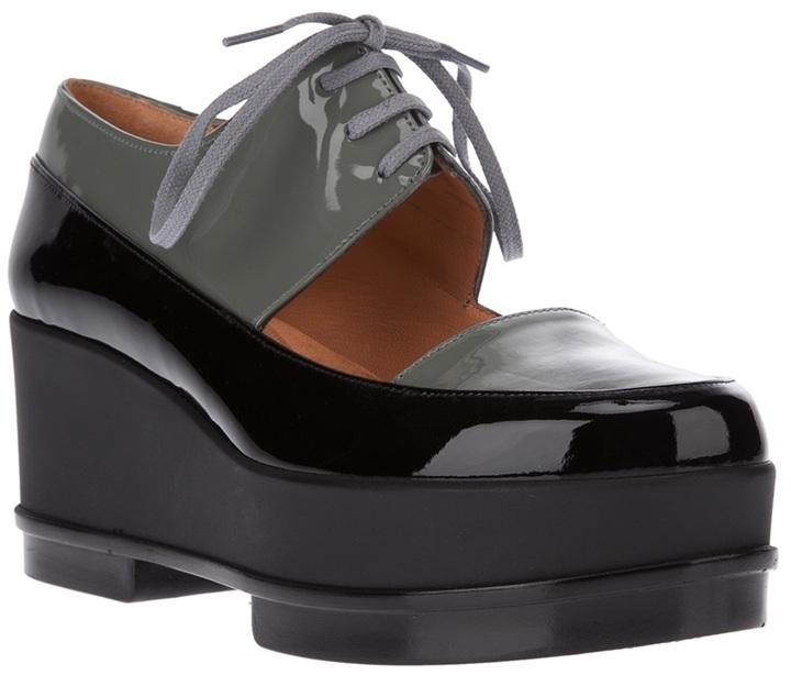 Robert Clergerie 'Yin' platform shoe