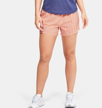 Under Armour Women's UA Mileage 2.0 Printed Shorts