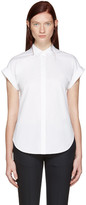 Rag & Bone White Ara Tie Back Shirt