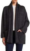 Vince Wool Blend Knit Car Coat