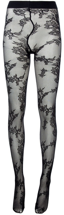 Dolce & Gabbana Floral tights