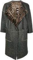 Giorgio Brato reversible fur lined coat