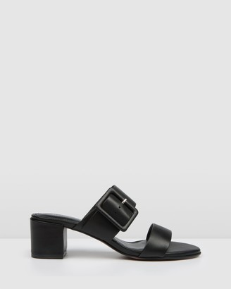 Jo Mercer - Women's Black Strappy sandals - Rain Low Slides - Size One Size, 37 at The Iconic
