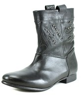 Miss Sixty Gerrie Round Toe Leather Ankle Boot.