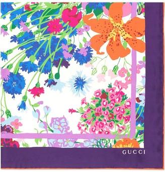 Gucci x Ken Scott print scarf