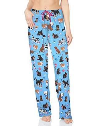 Hatley Little House by Women's Cute Pups Jersey Pyjama Bottoms