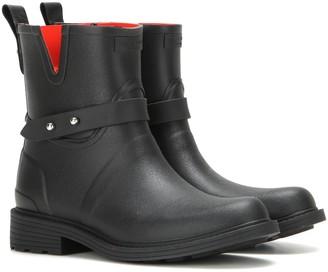 Rag & Bone Moto Rain rubber ankle boots