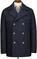 Charles Tyrwhitt Navy pea coat