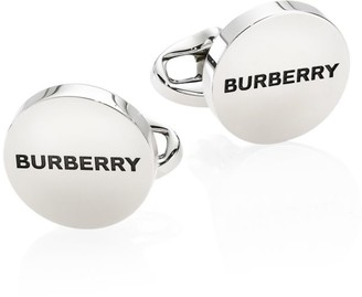 Burberry Logo Engraved Cufflinks
