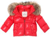 Moncler K2 Hooded Nylon Down Jacket
