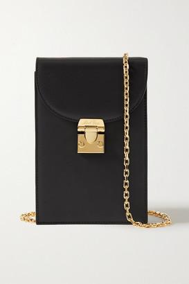 Mark Cross Francis Leather Shoulder Bag - Black