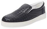 Bottega Veneta Leather Slip-On Sneaker
