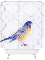 DENY Designs American Robin Shower Curtain