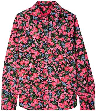 Marc Jacobs Floral-print Crepe Shirt