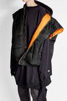 Vetements Reversible Oversized Puffer Vest with Hood
