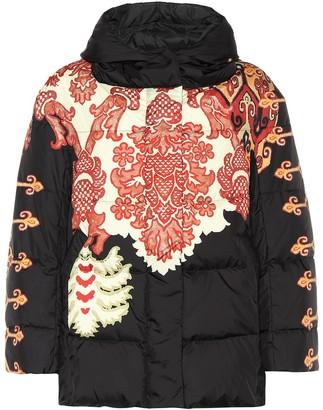 Etro Printed down puffer coat