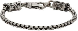 Emanuele Bicocchi Silver Tubular Chain Bracelet