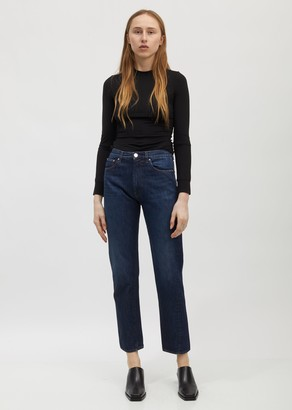 Totême Dark Blue Wash Original Jeans - 34""