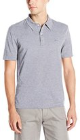 Lacoste Men's Short Sleeve Mercerized Pique Polo W/ Tonal Embroid Croc (Bc)
