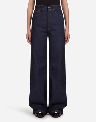 Dolce & Gabbana Flared Denim Pants