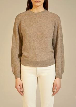 KHAITE The Viola Sweater in Barley