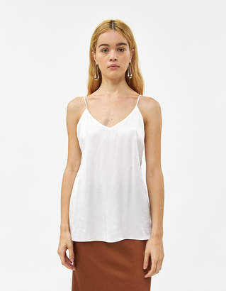 MONICA Stelen Lace Back Camisole in White