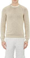 Massimo Alba Men's Chunky Crewneck Sweater-TAN