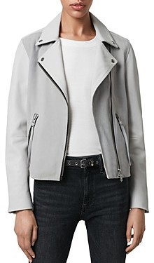 AllSaints Dalby Leather & Suede Biker Jacket
